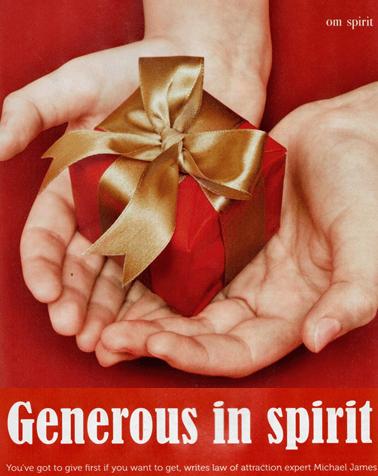 Generous in Spirit