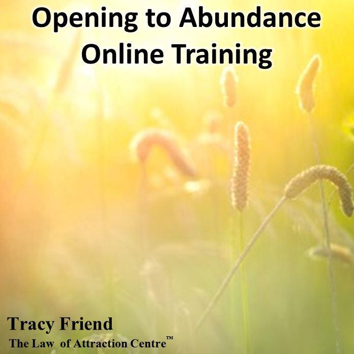 Opening to Abundance Online Training